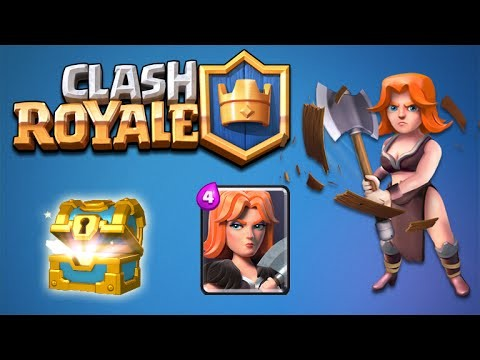 CLASH ROYALE | The GIANT Army RARE CARD UNLOCKS & EPIC CHEST OPENINGS (Clash Royale)
