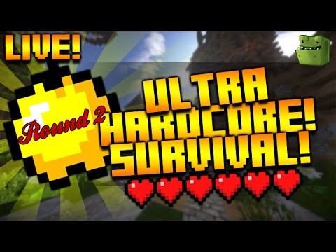 [LIVE] Minecraft Xbox – UHC AMPLIFIED – Vs ibxtoycat  (ROUND 2)