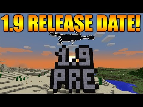 Minecraft 1.9 The Combat Update! – Official Release date CONFIRMED + Changes (1.9 PRE-RELEASE 1)