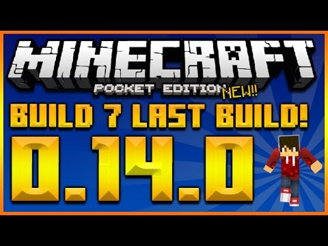 MINECRAFT POCKET EDITION 0.14.0 UPDATE – BETA BUILD 7 FINAL BUILD + REDSTONE SKIN PACK