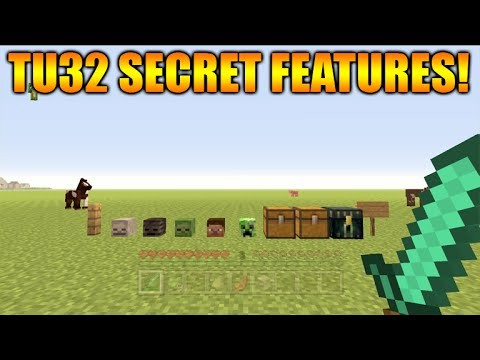 Minecraft Xbox 360 + PS3: Title Update 32 NEW SECRET FEATURES + PVP Changes (TU32 Update)