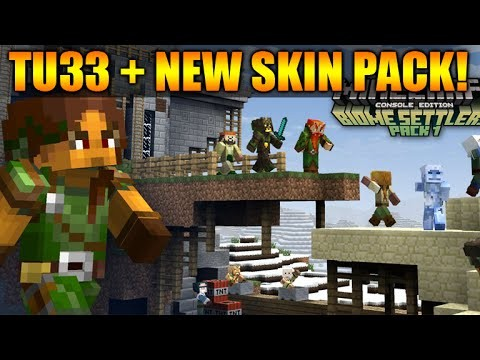 Minecraft Xbox 360 + PS3: TU33 Update OUT NOW! – NEW Skin Pack & Update Changes