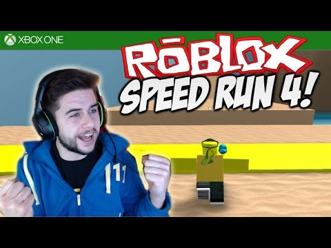 ROBLOX SPEED RUN 4!!! – PRO PARKOUR SKILLS – Part 1 [XBOX ONE]