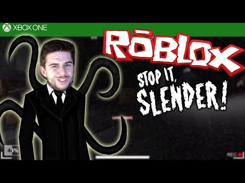 ROBLOX STOP IT SLENDER 2!!! – Jumpscares & Escaping Like A Boss – [XBOX ONE]