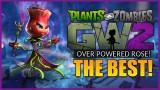 THE BEST CHARACTER! Plants Vs Zombies Garden Warfare 2 Overpowered Rose Character (PVZGW2)