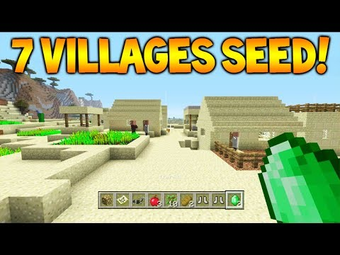 7 VILLAGES 4 BLACKSMITHS SEED! – Minecraft Xbox 360 + PS3 TU33 Seed Villages, Temples & MORE!