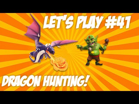 CLASH OF CLANS | LET'S PLAY SINGLEPLAYER ATTACKS – Wall Upgrades + Dragon Hunt Live Episode 41