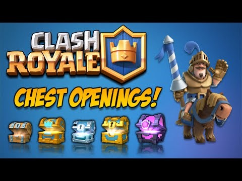 CLASH ROYALE | AMAZING FLAWLESS BATTLES & EPIC CARD CHEST OPENINGS (Clash Royale)