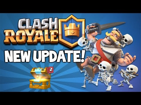 CLASH ROYALE | NEW DECK BALANCE UPDATE!! & MULTIPLE CHEST OPENINGS (Clash Royale)
