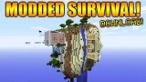 CUBED MODDED SURVIVAL MAP! Minecraft Xbox & Playstation Custom Villagers, Custom Biomes & More!!