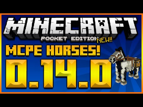 ★HORSES IN MCPE!! Tame, Feed, Ride All Horses + Undead Horses – Minecraft Pocket Edition★