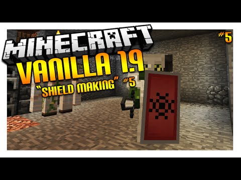 Let's Play Minecraft 1.9 – VANILLA SURVIVAL – Shields Making Episode 5 (Let's Play)