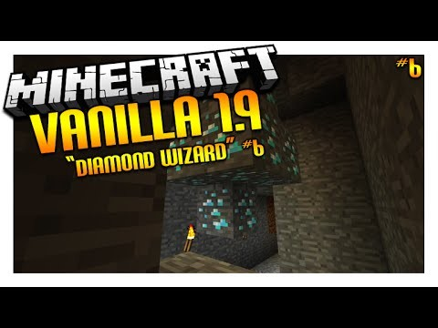 Let's Play Minecraft 1.9 – VANILLA SURVIVAL – The Diamond Wizard Episode 6 (Let's Play)