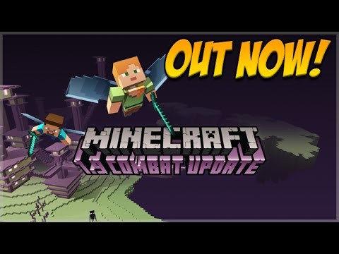 Minecraft 1.9 The Combat Update – Officially Released OUT NOW! – All Changes & Features (1.9)