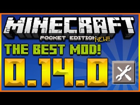 MINECRAFT POCKET EDITION 0.14.0 – THE BEST APP!! THE ULTIMATE MINECRAFT MOD APP (MCPE 0.14.0)