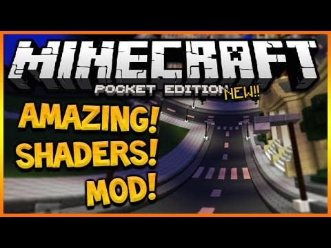 MINECRAFT POCKET EDITION 0.14.0 – INCREDIBLE SHAPE SHIFTING SHADERS MOD PACK (MCPE 0.14.0)
