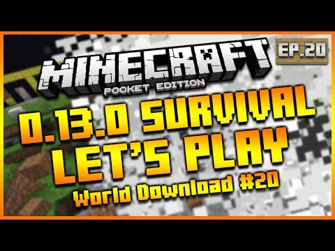 ★Minecraft Pocket Edition 0.14.0 – Let's Play Survival World Download Number 2 Episode 20★