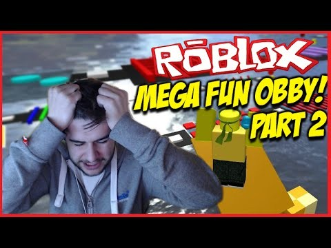ROBLOX MEGA FUN OBBY!!! – LEAPING MY WAY TO VICTORY!! Level 50-100 Part (2)