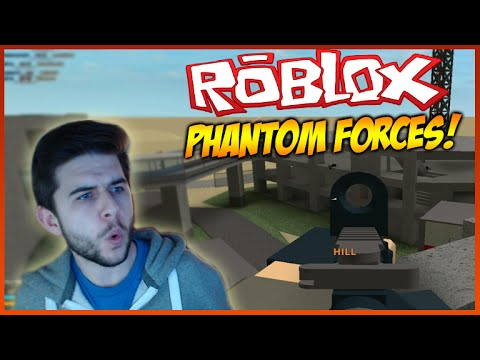 ROBLOX PHANTOM FORCES – KING OF THE HILL – OWNING THE ENEMY TEAM