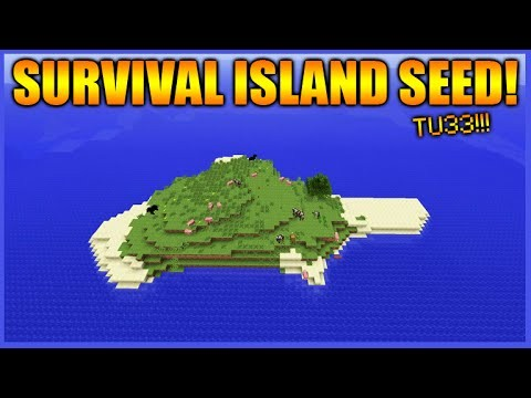 THE BEST SURVIVAL ISLAND SEED!! – Minecraft Xbox 360 + PS3 NEW TU33 Survival Island Seed!