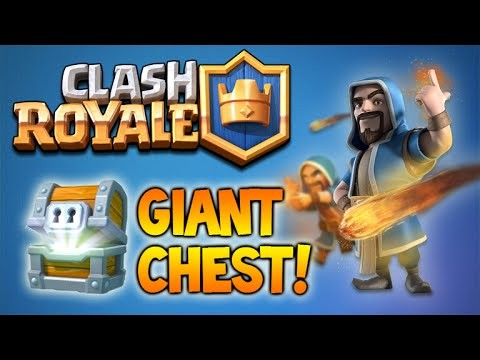 CLASH ROYALE! | GIANT CHEST UNLOCKING & NEW CARDS FOUND (Clash Royale)