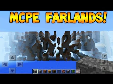 FARLANDS IN MCPE!!! – Minecraft Pocket Edition Farlands Tutorial How To Get There (MCPE 0.15.0)