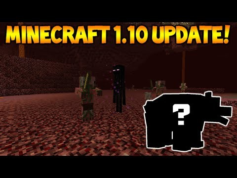 Minecraft 1.10 UPDATE – NEW MOBS, Endermen In The Nether! Expected Features & More!