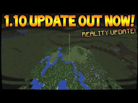 MINECRAFT 1.10 UPDATE SNAPSHOT!! – Virtual Reality Update – New Reality Technology (1.10 Update)
