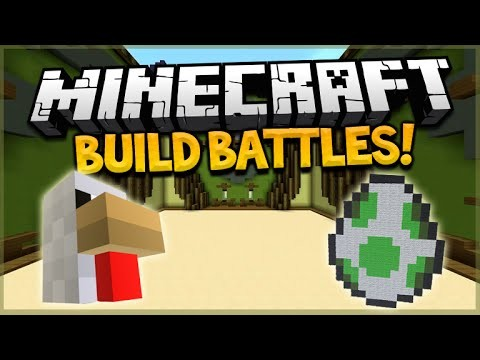 MINECRAFT BUILD BATTLE!! – Hypixel Insomnia 57 Easter Build Battle W MiniMuka, Yammy & Grian