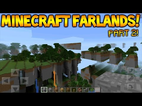 MINECRAFT FAR LANDS FUN!! – Minecraft Pocket Edition: Farlands How To Break MCPE (MCPE 0.15.0)