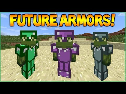 Minecraft Future Armors – Emerald Armor, Ender Armor, Magical Armor & More! (Future Features)
