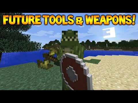 Minecraft Future Tools & Weapons – Battle Axe, Daggers, Quivers (Future Features)