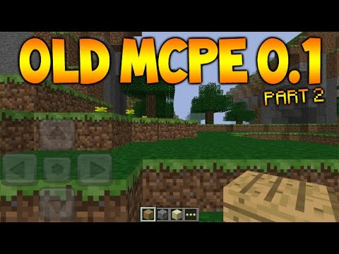 Minecraft Pocket Edition – Version 0.1 OLD MCPE VERSIONS! Old World Seeds + Blocks