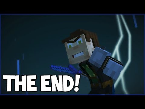 Minecraft Story Mode – Episode 5 – THE FINAL BATTLE! (Part 4) ORDER UP (THE END!)