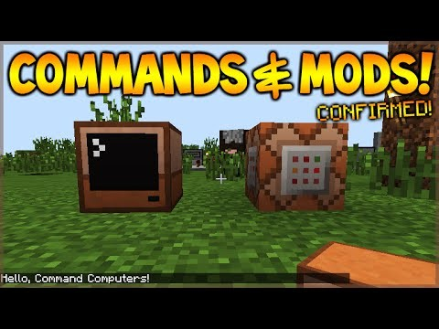 Minecraft Xbox 360 + PS3 + MCPE – COMMAND BLOCKS & MODS! Confirmed (News Update)