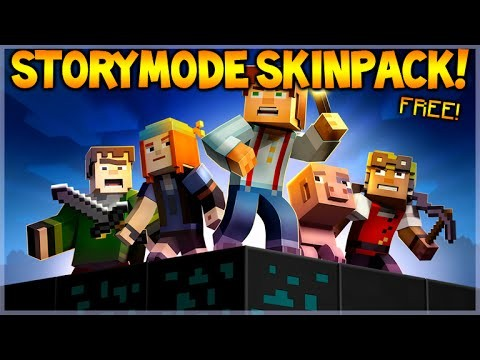 Minecraft Xbox 360 + PS3 – Minecraft Story Mode FREE! Skinpack & Arena Map COMING! (FREE SKINS!)