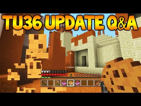 Minecraft Xbox 360/PS3: TU36 Update Q&A – Map Sharing, Virtual Reality & 1.9 Release (TU36)