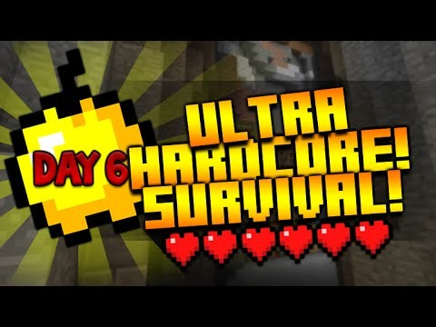 Minecraft Xbox – ★UHC (Ultra Hardcore Survival) Stronghold Location! Day 6★