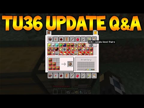 Minecraft Xbox360/PS3: TU36 Update Q&A – Servers & Realms, Missing Features Update (TU36)