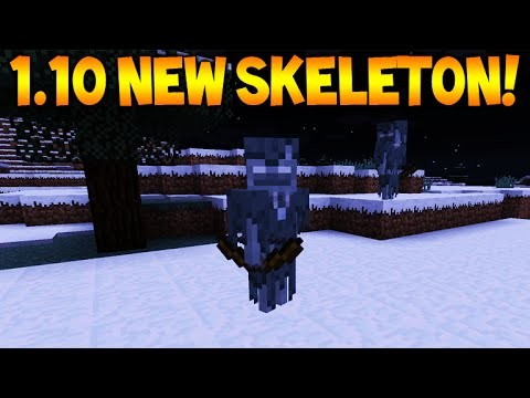 NEW SKELETONS!! Minecraft 1.10 Update – New Skeleton Mob Coming & More! (1.10 Update)