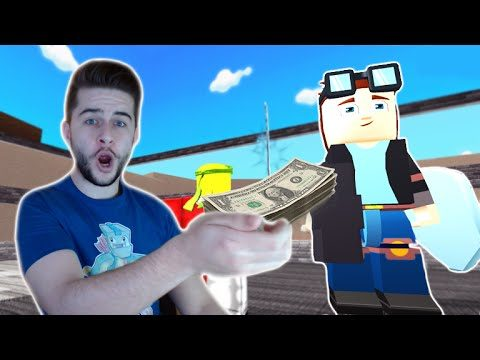 BUYING DANTDM!! YOUTUBE TYCOON – Roblox (Part 1)
