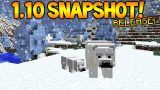 FIRST 1.10 SNAPSHOT! Minecraft 1.10 Snapshot Release Info + Minecraft 7th Birthday (Minecraft 1.10)