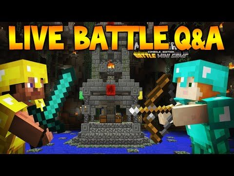 [LIVE] Minecraft Console NEW BATTLE MODE – DISCUSSION / Q&A (Mini Games)