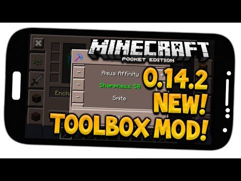 MCPE 0.14.2 TOOL BOX MOD!! – NEW Way Points, MiniMap, Settings & MORE (Minecraft PE)