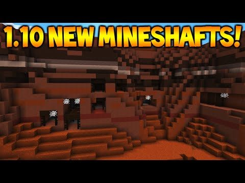 Minecraft 1.10 Update – NEW Surface Mineshafts, NEW Command Blocks & Nether Block Changes