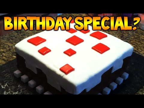 Minecraft Xbox 360 – 4th Birthday Anniversary  – SPECIAL LIVESTREAM!!