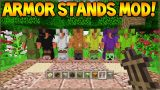 Minecraft Xbox 360/ PS3 – Mod Showcase Acacia Wood Armor Stands Mod (Custom Armors)