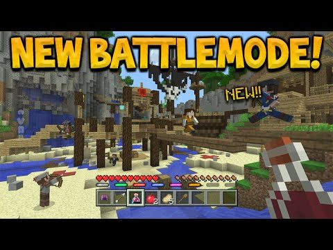 Minecraft Xbox 360/PS3 – BATTLE MODE! Confirmed Coming Next Month Everything To Know!(BattleMode)
