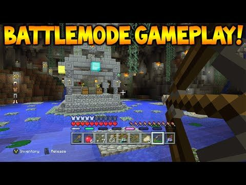 Minecraft Xbox 360/PS3 – NEW BATTLE MODE Official Gameplay Showcase Xbox Mini-Game (Battle Mode)