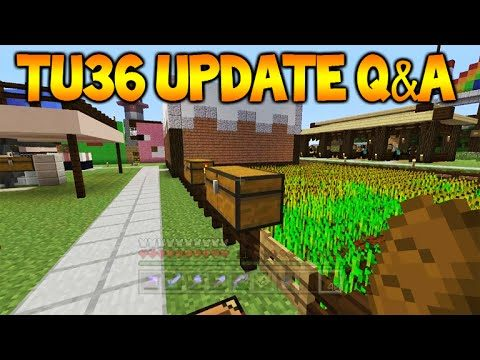 Minecraft Xbox 360/PS3: TU36 Update Q&A – Bigger Worlds, Texture Pack In Game Changing (TU36)